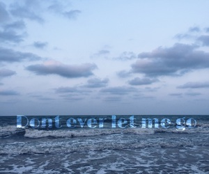 beach, quotes, and ocean image