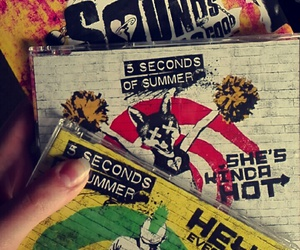 hey everybody, 5 seconds of summer, and sgfg image