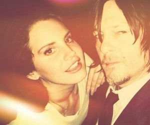 norman reedus and lana del rey image
