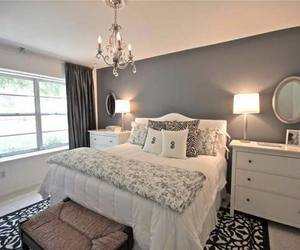 bedroom, ideas, and white image