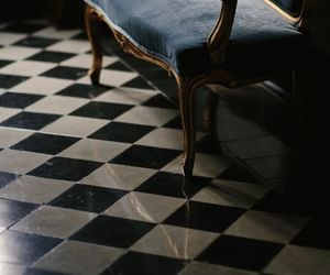 pretty, royal, and tiles image
