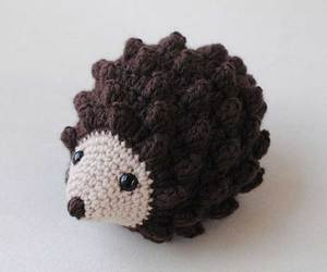 animal, crochet, and hedgehog image