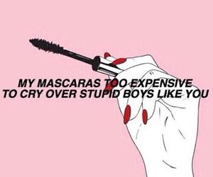 mascara, boy, and quotes image