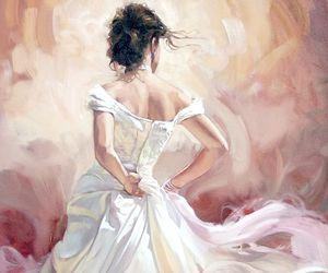 art, beautiful, and dress image