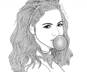 art, marina and the diamonds, and outline image