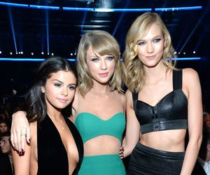 selena gomez, Karlie Kloss, and Taylor Swift image