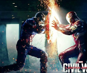 Marvel, chris evans, and iron man image