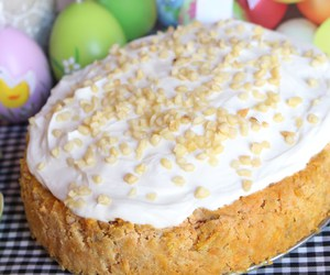 cake, carrot cake, and easter image