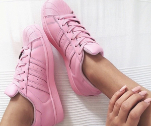adidas, nails, and style image