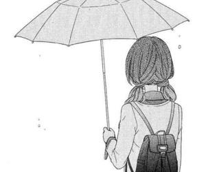 manga, anime, and umbrella image