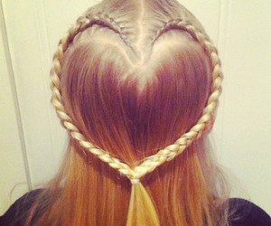 heart and hair image