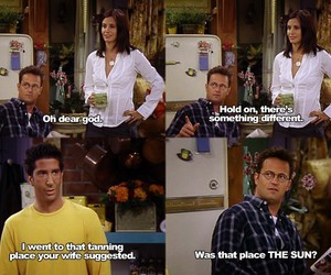 friends, funny, and ross image