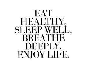 quote, healthy, and life image