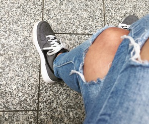air force, happy, and jeans image