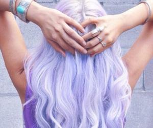 fashion hair pink image