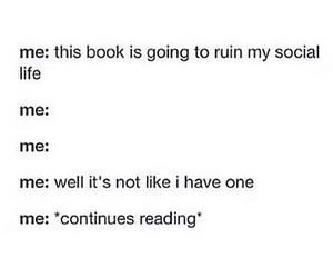 books, social life, and love image