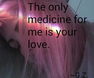 girl, hair, and medicine image