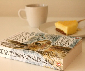 book, cake, and vintage image