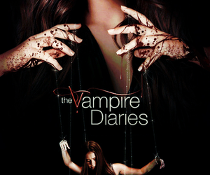 the vampire diaries, elena gilbert, and tvd image