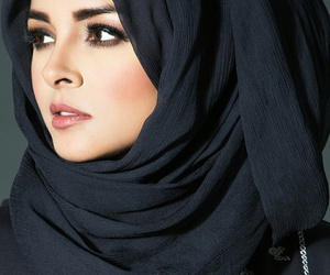 hijab, makeup, and nice image