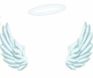 overlay, png, and angel image