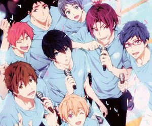 free!, anime, and free! eternal summer image
