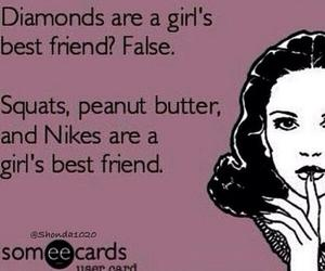 squats, nike, and fitness image