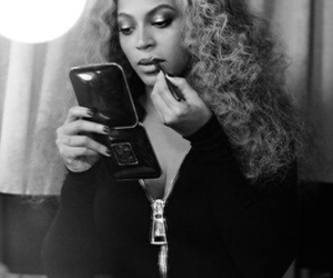 beyoncé, beautiful, and black and white image