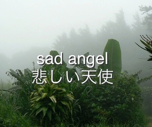 sad, angel, and grunge image