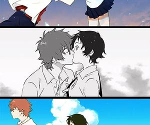 toki wo kakeru shoujo, anime, and couple image