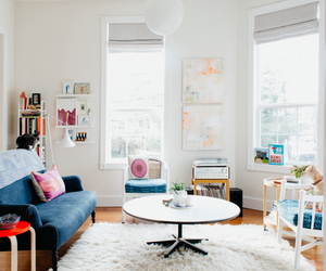home, interior design, and light image