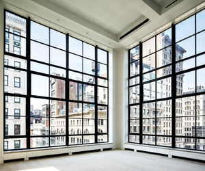 city, window, and view image