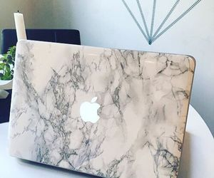apple, macbook, and marble image