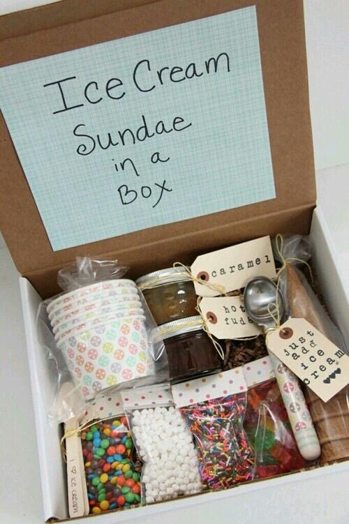 diy, ice cream, and box image