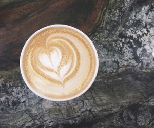 coffee, coffee shop, and countertop image