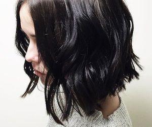 short, black, and long bob image