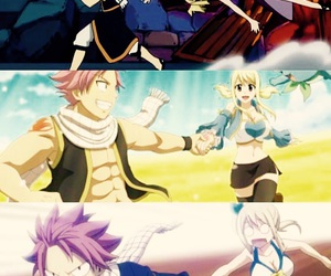 fairy tail, Lucy, and natsu image
