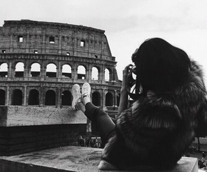 rome, kendall jenner, and travel image