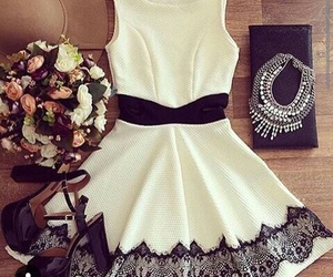 dress, moda, and outfit image