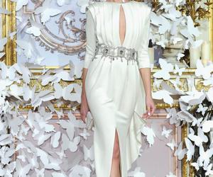 belleza, alta costura, and blanco image