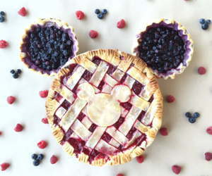 food, mickey mouse, and disney image