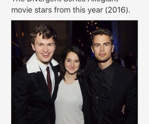 theo james and ansel elgort image