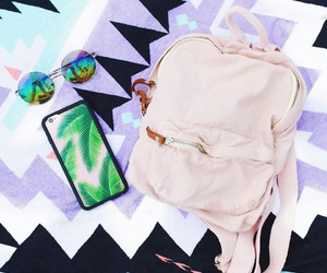 backpack, essentials, and green image