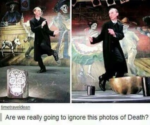 supernatural, death, and funny image