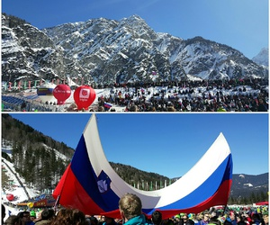 slovenia, love, and skijumping image