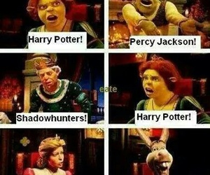 shrek, harry potter, and percy jackson image
