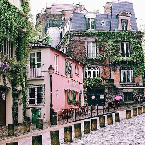pink, beautiful, and street image