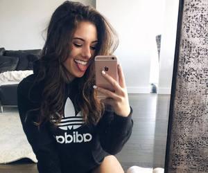 adidas, girl, and happy image