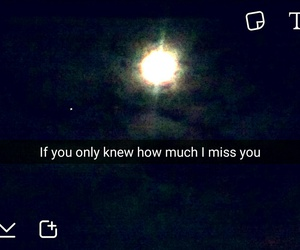 miss you, snapchat, and moon image