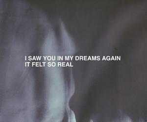 Dream, quotes, and sad image
